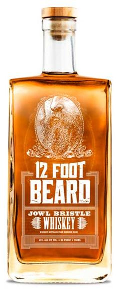 12 foot Beard is not unlike some other craft whiskey: it has a cheeky name, interesting bottle, and a back story, which in this case has little to do with the product. While I do not have a beard, I did allow a three-day growth of stubble before reviewing 12 Foot Beard.