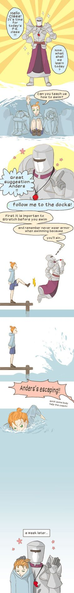 Anders first escape by spidercandy [[I will assume a special appearance by Finn! XD]]
