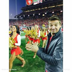 Jeremy - Thanksgiving 2014 at 49ers game