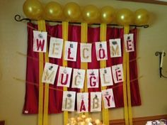 Harry Potter Baby shower for my best friend