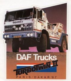 DAF Turbo Twin II Parijs Dakar