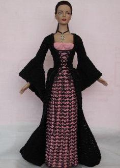 Crocheart: Barbie princesa Medieval