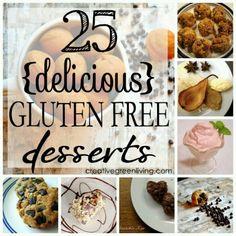To keep in mind for Nat  25 Gluten Free Desserts @Natalie Owen
