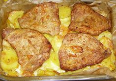 Pork Loin, Mozzarella, French Toast, Food And Drink, Meat, Chicken, Dinner, Cooking, Breakfast