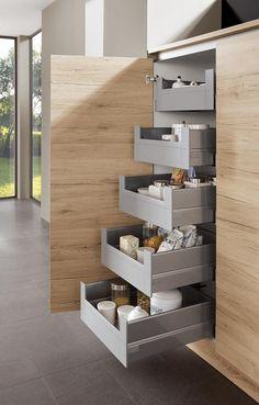 Aufbewahrungsschrank Küche Eiche San Remo Norina 2371