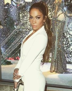 JLo is Jennifer Lopez! High Ponytail Hairstyles, High Ponytails, John Travolta, Jennifer Aniston, Kristen Stewart, Preston, Fashion Line, Fashion Beauty, Kendall Jenner