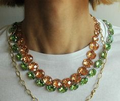 Anna Wintour's necklace - fabulous!