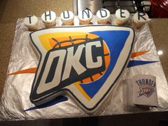 OKC Thunder cake Treat Dreams: OKC Thunder