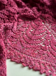 From airy Shetland lace to complex modern lace, there's plenty to love when it comes to delicate lace knitting! Visit the Craftsy blog to read all about these lovely designs! Click: http://www.craftsy.com/ext/20130312_14_Knitting_1b