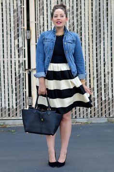 Girl With Curves: Striped