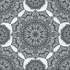 4016 Servilleta decorada geometricos