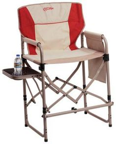 The Bass Pro Shops® Eclipse Magnum Director Chair with Side Table lets you see and experience it all from the comfort of your camp chair, with a taller barstool height and attached metal table. Outdoor Seating, Outdoor Chairs, Outdoor Furniture, Tall Bar Stools, Stool Height, Flat Web, Leather Recliner Chair, Camping Chairs, Cool Chairs