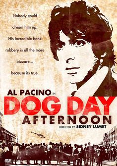 Al Pacino in DOG DAY AFTERNOON - 1975 - Sidney Lumet. One of the greatest films of all time.