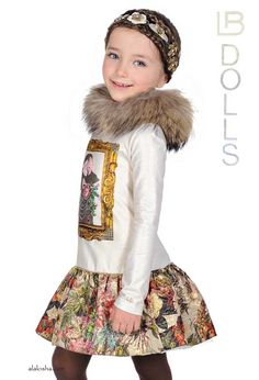 ALALOSHA: VOGUE ENFANTS: Here it is! New Princess Geneva, next to that familiar horse, Laura Biagiotti DOLLS collection for Fall / Winter 15/16