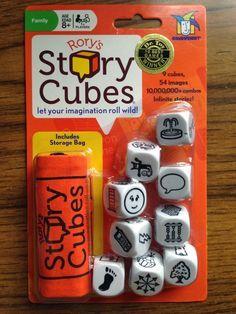 Bright Ideas: Speech-Language Pathology: Bright Idea: Story Cubes I have these and love them! :)
