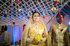 Phooloki Chaadar at a Telugu wedding