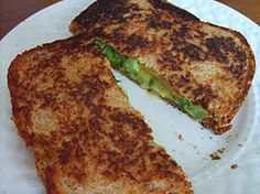 Grilled Cheese and Broccoli Sandwich with Smoked Gouda and Sprouted Grain Bread. Fun way for your kids to eat their veggies! Vegetarian Recipes, Healthy Recipes, Healthy Food, Healthy Eating, Healthy Options, Healthy Cooking, Clean Eating, Grilled Broccoli, Steamed Broccoli