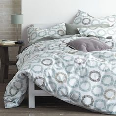 Home, Furniture & Diy Flower Design Bedspread Comforter Quilted Throw Fits Double Bed Size 195 X 229cm Delicious In Taste