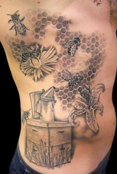 Natural Beekeeping Forum - View topic - tattoos for beeks