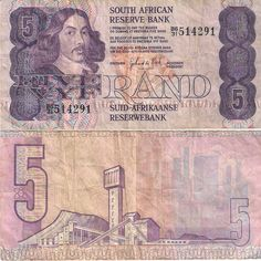 Five South African Rand