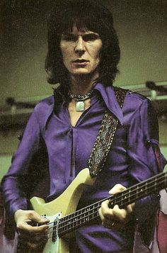 Chris Squire - looked great in purple!