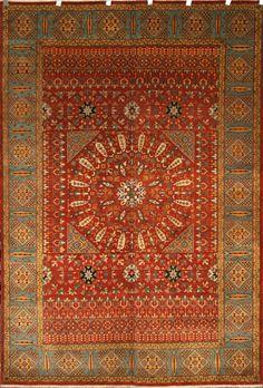 Handmade Mamluk Rug (Ref: 1337) by Little-Persia