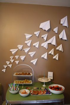 The Brimblecom Blog - Paper Airplane Themed First Birthday Party