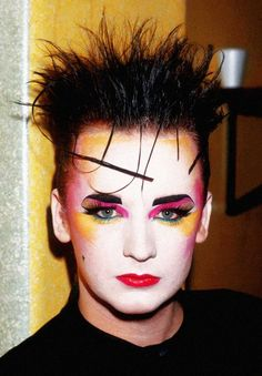 Boy George, 1980s. New Romantic was a New Wave and fashion movement ...