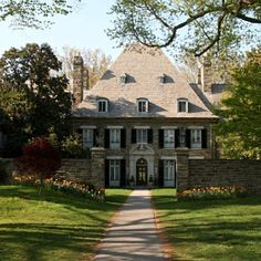 Town And Country, Country Life, Country Estate, Sweet Home, Exterior, Mansions, House Styles, Home Decor, Decoration Home