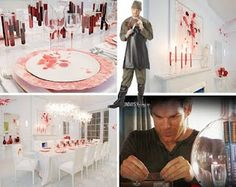 Dexter themed halloween party