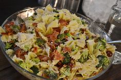 Meals at the Muirs: Broccoli and Grape Pasta Salad