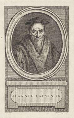 Reinier Vinkeles | Portret van Johannes Calvijn, Reinier Vinkeles, 1788 | Portret van de hervormer Johannes Calvijn.