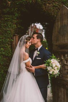 Fairytale wedding, off the shoulder wedding dress, Disney wedding, Casablanca 2077, michelle roller photography, Cambria Pines Lodge Wedding, Royal wedding, veil, bridal hair, bride hair, bridal updo, bridal tiara, princess ball gown