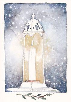 Minna Immonen, Новый Год, зима (39)