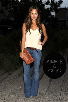 Love it! I've been looking for 1 pair of flares that I could add to my wardrobe; love this pair!