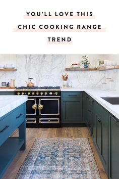 French cooking ranges are having a moment, and they're the perfect high-end addition to your boho kitchen. — via @PureWow
