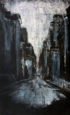 Artist: Lindsay Buchman Il Giorno Collagraph and Monoprint, Etching Prints, Cityscape Art, Collagraph, A Level Art, Pictures To Paint, Art And Architecture, Artist At Work, All Art, Printmaking