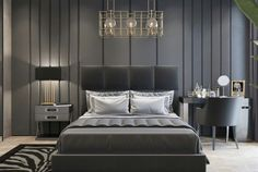 51 Comfy Minimalist Modern Bedroom Ideas On A budget Luxury Bedroom Design, Master Bedroom Interior, Budget Bedroom, Home Decor Bedroom, Modern Bedroom, Bedroom Wall, Bedroom Ideas, Dream Bedroom, Bar Interior