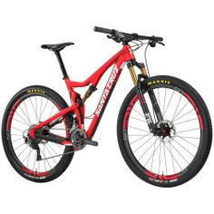 Santa Cruz Bicycles Tallboy Carbon R Complete Mountain Bike - 2016 Red/White L