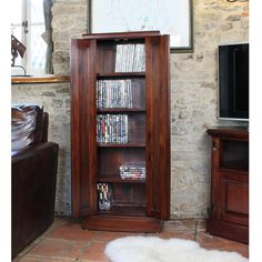 Buy the CD & DVD Cupboard - La Roque from Baumhaus today! A part of our Living Room Storage Furniture range. Cd Storage, Cupboard Storage, Hidden Storage, Storage Chest, Media Storage, Dvd Cabinets, Mahogany Furniture, Modern Furniture, Living Room Storage