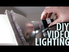 CHEAP /EASY DIY VIDEO LIGHTING TUTORIAL