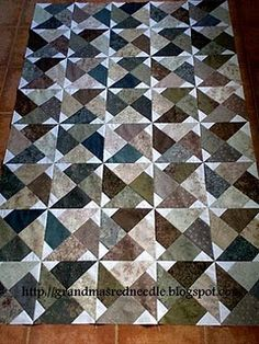 beautiful quilt. love the colors and the simple, yet sophisticated look.
