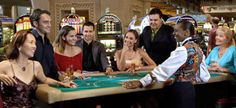 #BACCARAT: Popularized by the infamous card-duel, set-piece, in Ian Fleming's Casino Royale; Baccarat is popular among Paradise Island's serious sophisticated punters because it has the largest wagers available at the #Atlantis casino.