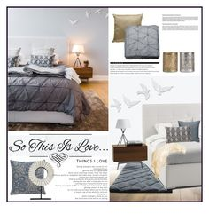 Soft Bedroom by szaboesz on Polyvore featuring interior, interiors, interior design, home, home decor, interior decorating, Arche and bedroom