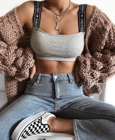 Find images and videos about fashion, style and outfit on We Heart It - the app to get lost in what you love. Fashion Killa, Look Fashion, Teen Fashion, Fashion Outfits, Womens Fashion, Fashion Trends, Fashion Pics, Latest Fashion, Mode Outfits