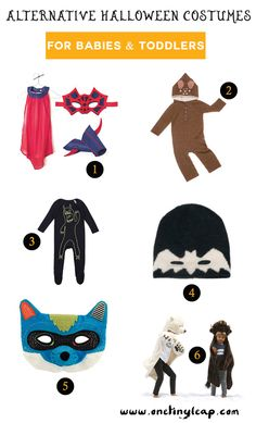 Our top 6 alternative halloween costumes for kids featuring @smallable, @oeufbegood, @stellamccartney, @moulinroti, #chamaleonkids & #ratatam