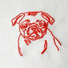 I need to find a line pattern of a French Bulldog & make this up!