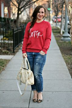 Love this comfy, casual look
