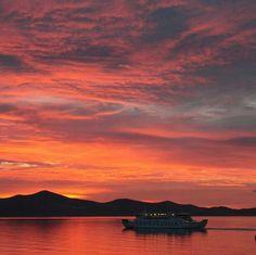 #Zadar sunset, #Croatia