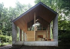 Concrete Shell Summer House in Japan